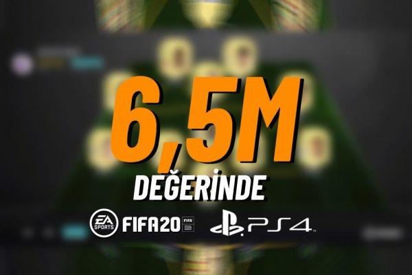 FIFA20 6,5M  Hesap #03
